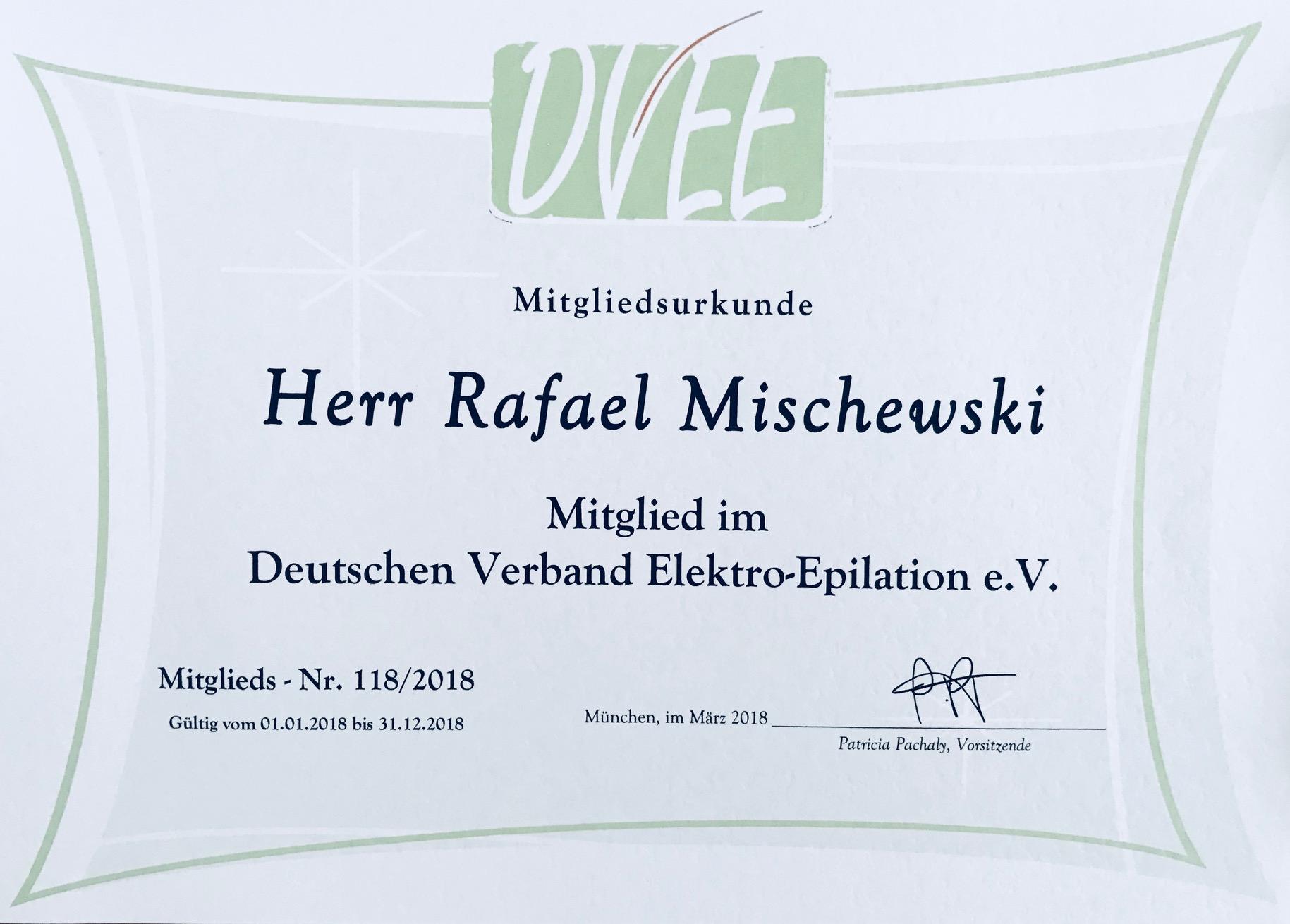 Mitglied im Deutschen Verband Elektro-Epilation e.V. - RPM Medical ...