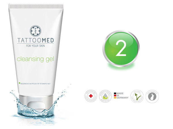 TattooMed® cleansing gel 100ml | RPM Medical & Kosmetik Rafael-Peter Mischewski Mönchengladbach